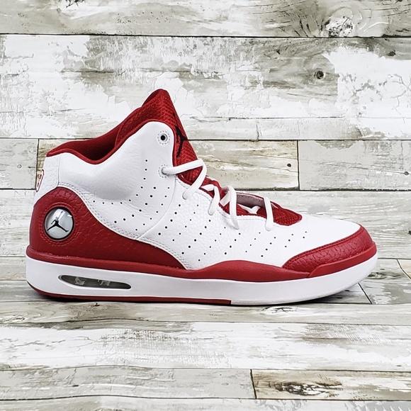 d427a1c54f35d1 Nike Air Jordan Mens 12 Flight Tradition Gym Red. M 5bdb5efb1b32944820ee3950